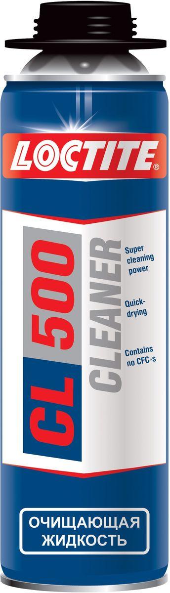 Очиститель монтажной пены Loctite CL500 PU, 500 мл очиститель для незатвердевшей пены makroflex premium cleaner 500 мл 1338403