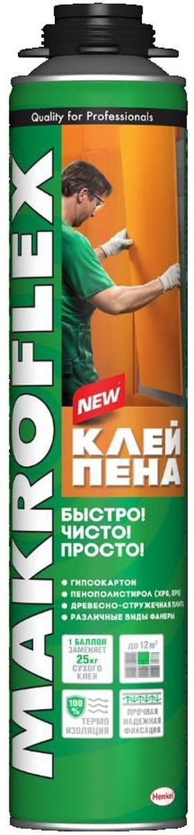 Пена-клей Makroflex, профессиональная, 850 мл плита osb 3 kronospan 2440х1220х12мм