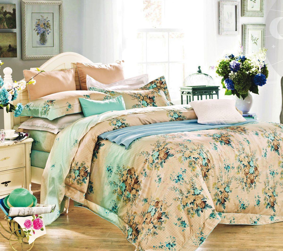 Комплект белья Коллекция Жаклин, 2-спальный, наволочки 50x70. СЛ2/50/ОЗ/жак комплект постельного белья хлопковый край жаклин 2 спальный наволочки 50x70 цвет брусничный