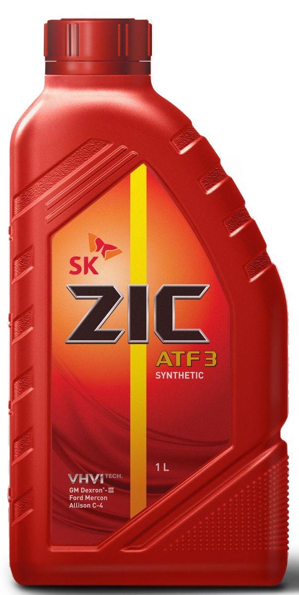 Масло трансмиссионное ZIС ATF 3, 1 л. 132632 масло трансмиссионное ziс atf multi ht 1 л 132664