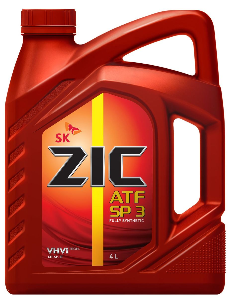 Масло трансмиссионное ZIС ATF SP 3, 4 л. 162627