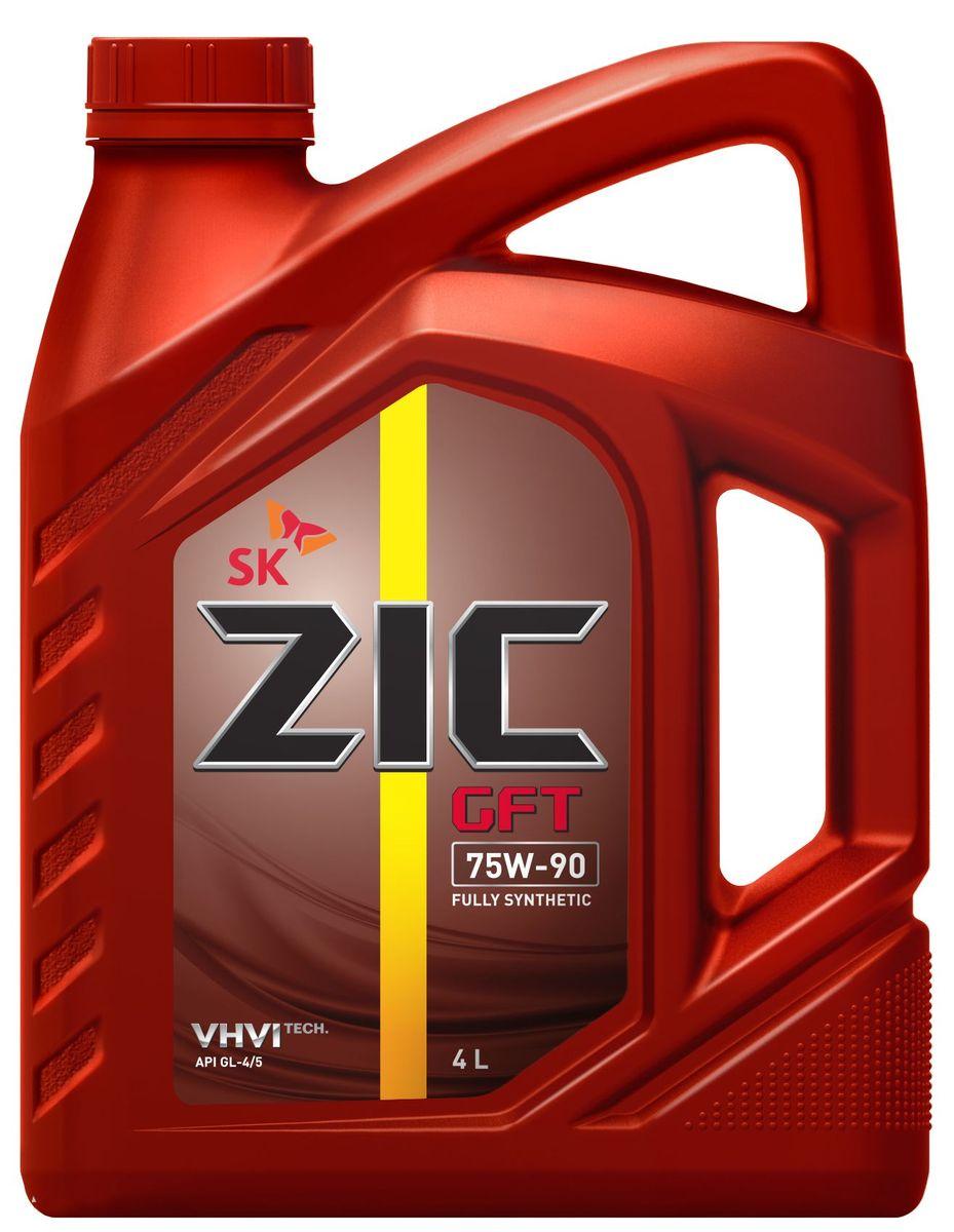 Масло трансмиссионное ZIС GFT,классвязкости75W-90,APIGL-4/5, 4 л. 162629 цена в Москве и Питере