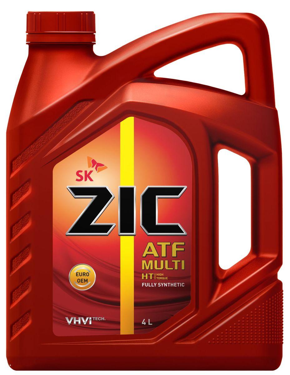 Масло трансмиссионное ZIС ATF Multi HT, 4 л. 162664 масло трансмиссионное ziс atf multi ht 1 л 132664