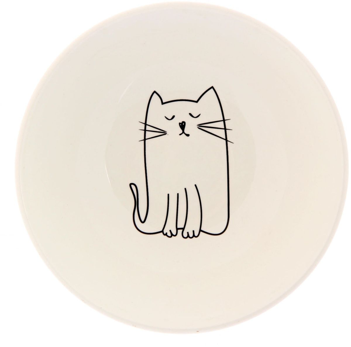 Салатник Сотвори чудо Киска, диаметр 16,5 см тарелка мелкая сотвори чудо бантик sans brides диаметр 20 см