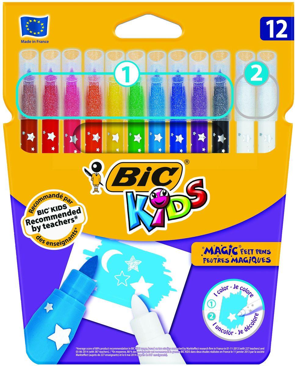 Bic Фломастеры Magic 12 цветов фломастеры bic kids colour