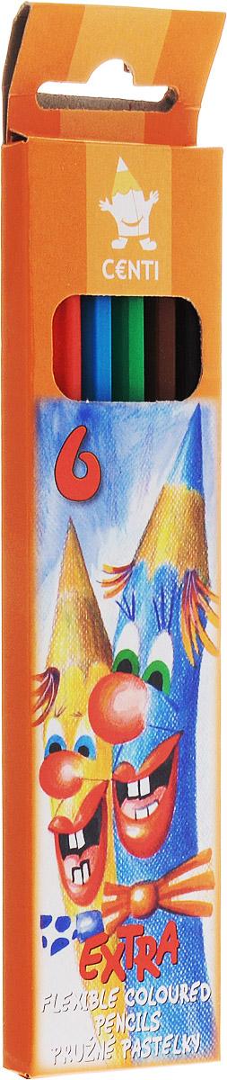 Koh-i-Noor Набор цветных карандашей 6 шт набор цветных карандашей koh i noor света 6 шт 17 5 см 3651 6 27ks 3651 6 27ks
