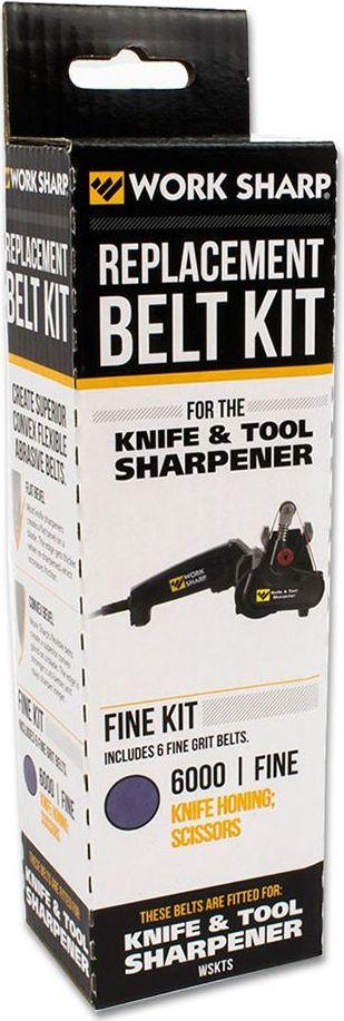 Ремень абразивный сменный Work Sharp Fine 6000, с мелкой зернистостью, для электроточилки для ножей WSKTS