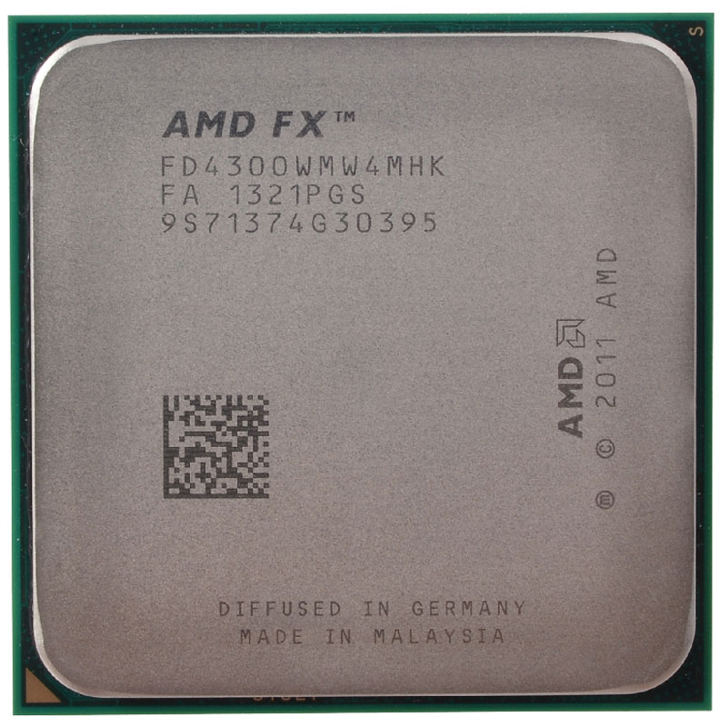 AMD FX-4300 процессор (FD4300WMW4MHK) процессор amd athlon ii x4 845 fm2