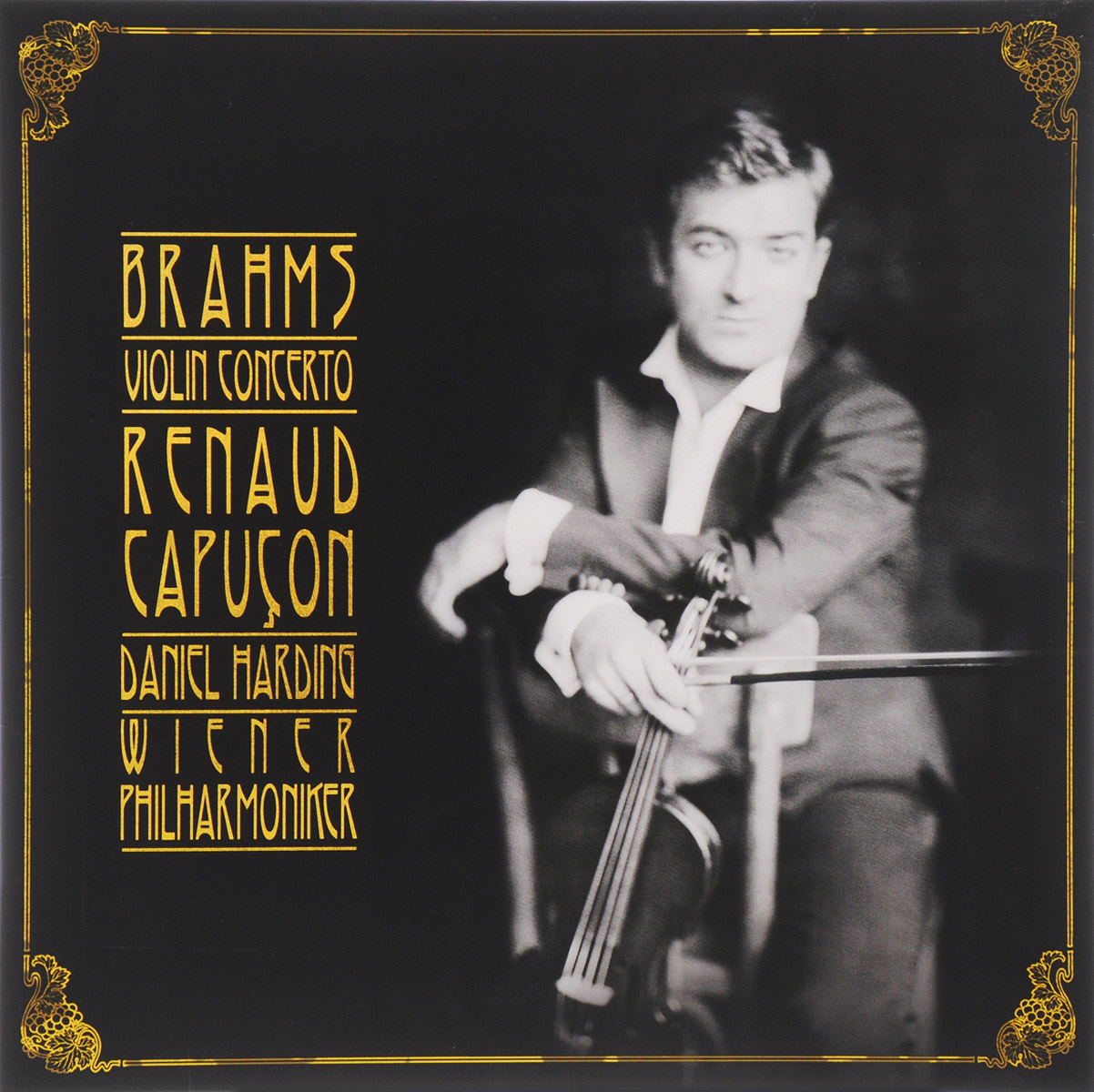 лучшая цена Рено Капукон Renaud Capucon. Daniel Harding. Brahms. Violin Concerto (LP)