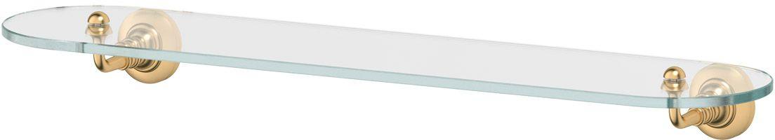 """Полка для ванной 3SC """"Stilmar"""", 60 см, цвет: матовое золото. STI 315"""