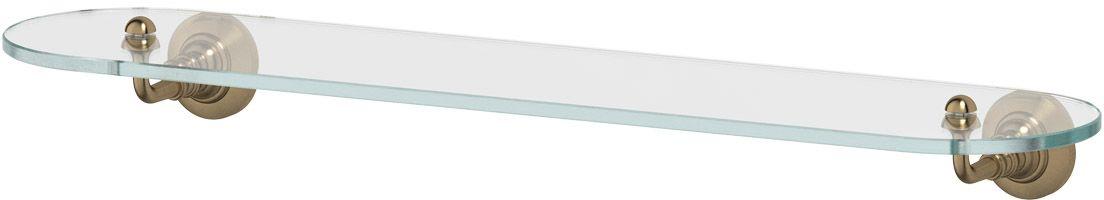 Полка для ванной 3SC Stilmar, 60 см, цвет: античная бронза. STI 515 полка стеклянная 60 см 3sc stilmar античная бронза sti 515