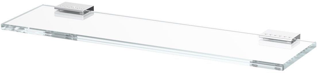 """Полка для ванной Lineag """"Tiffany Lux"""", 40 см, цвет: хром. TIF 910"""