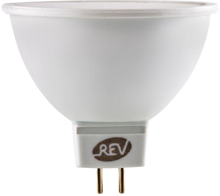 Лампа светодиодная REV, теплый свет, цоколь GU5.3, 3W. 32320 4 24 rev 30