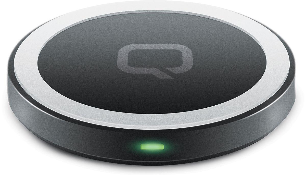 Qumo PowerAid Qi Mini Table Charger беспроводное зарядное устройство цена и фото