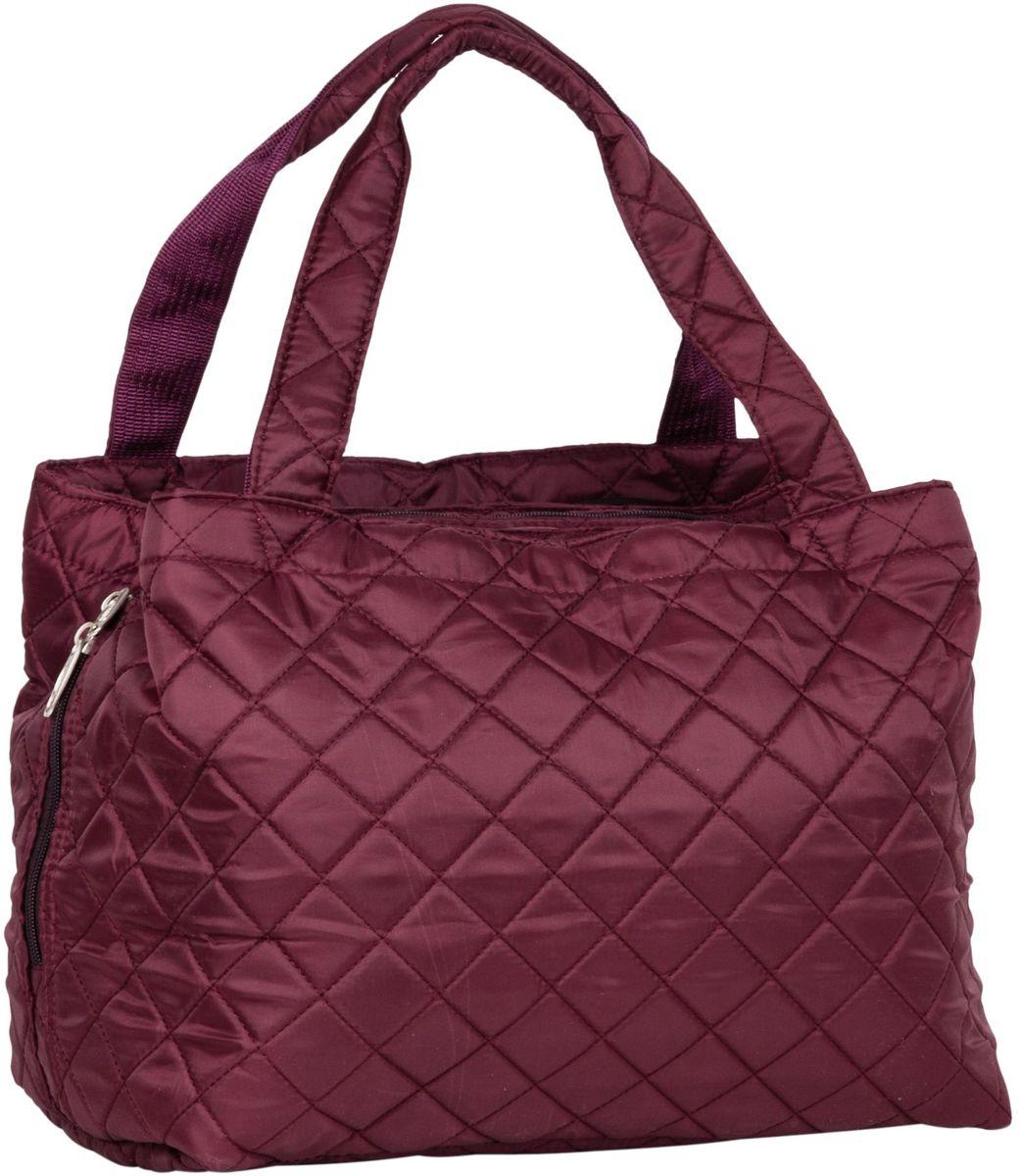 Сумка дорожная Polar Римини, цвет: бордовый, 25 л. П7077 сумка дорожная polar цвет коричневый 34 л 7015 5