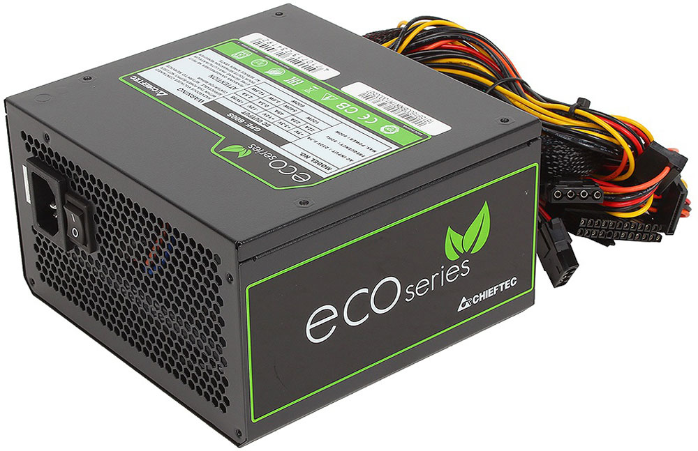 Блок питания компьютера Chieftec GPE-600S