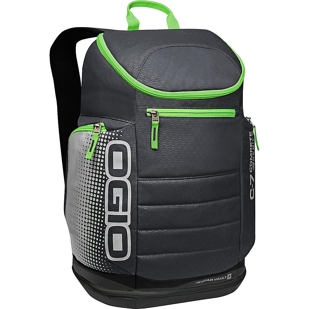 Рюкзак городской OGIO Active. C7 Sport Pack (A/S), цвет: черный, салатовый. 031652226821 борцовка с полной запечаткой printio харли квинн harley quinn