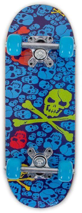 Скейтборд Larsen Junior 3, цвет: синий, салатовый, дека 51 см х 15 см скейтборд larsen street 3