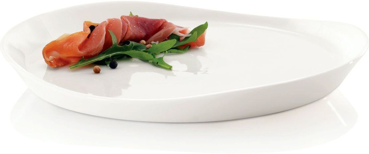 "Набор тарелок BergHOFF ""Eclipse"", цвет: белый, 20 см х 22 см, 4 шт"