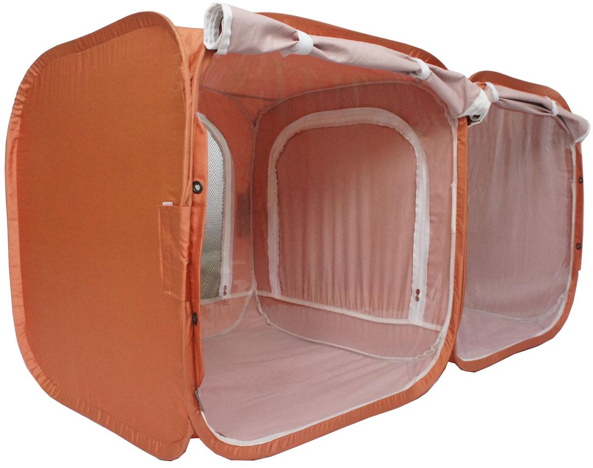 "Палатка для выставки животных ""Шоу-Петс"", цвет: корица, 120 х 60 х 60 см. ПВЛ2К"