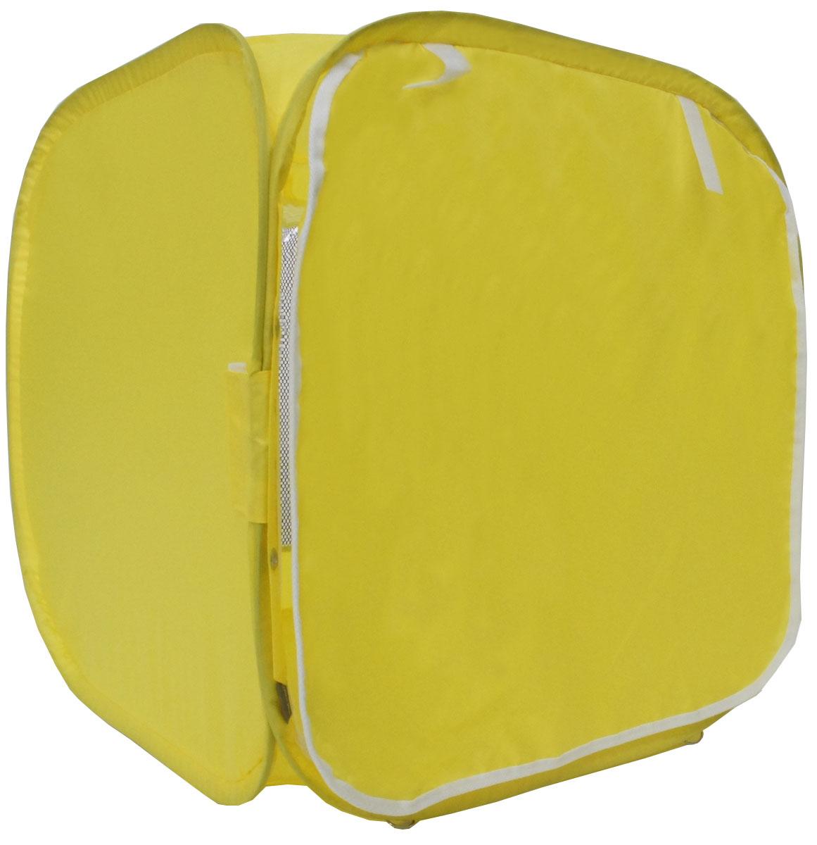 "Палатка для выставки животных ""Шоу-Петс"", цвет: желтый, 60 х 60 х 60 см. ПВЛ1Ж"