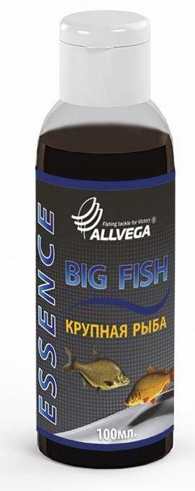 Ароматизатор-концентрат жидкий Allvega Крупная рыба, 100 мл ароматизатор жидкий в машину