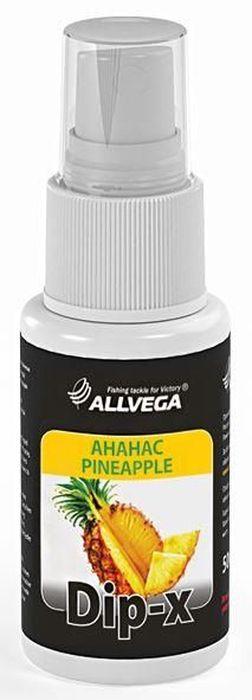 Ароматизатор-спрей Allvega Dip-X Pineapple, 50 мл ароматизатор спрей allvega dip x pineapple 50 мл