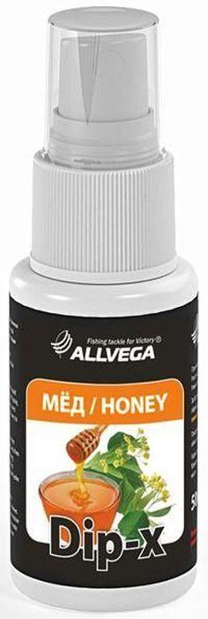 Ароматизатор-спрей Allvega Dip-X Honey, 50 мл ароматизатор спрей allvega dip x pineapple 50 мл
