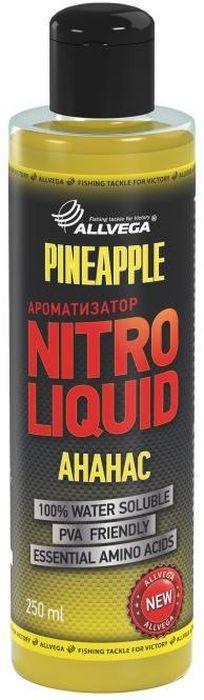 Ароматизатор жидкий Allvega Nitro Liquid. Pineapple, 250 мл ароматизатор жидкий в машину