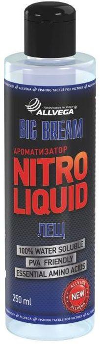 Ароматизатор жидкий Allvega Nitro Liquid. Big Bream, 250 мл ароматизатор жидкий в машину