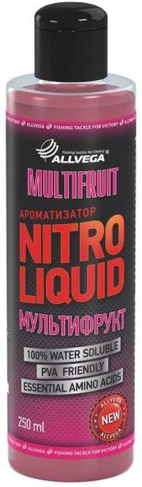 Ароматизатор жидкий Allvega Nitro Liquid. Multifruit, 250 мл ароматизатор жидкий в машину