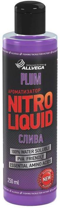 Ароматизатор жидкий Allvega Nitro Liquid. Plum, 250 мл ароматизатор жидкий в машину