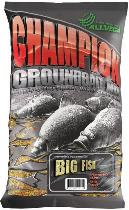 Прикормка Allvega Champion. Big Fishr, 1 кг