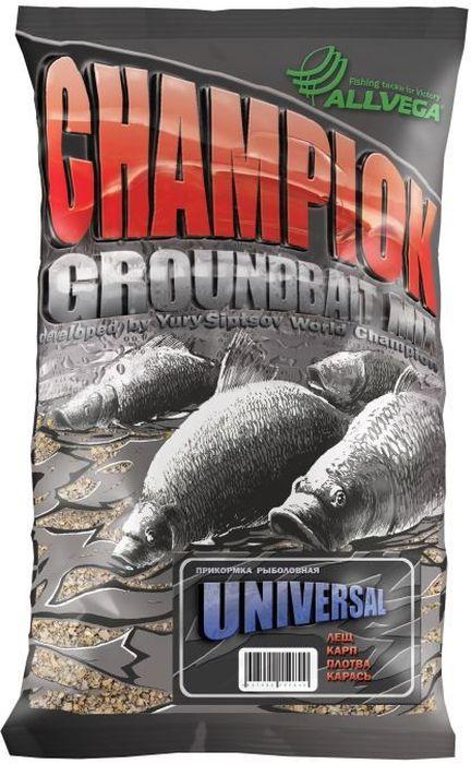 Прикормка Allvega Champion, универсальная, 1 кг