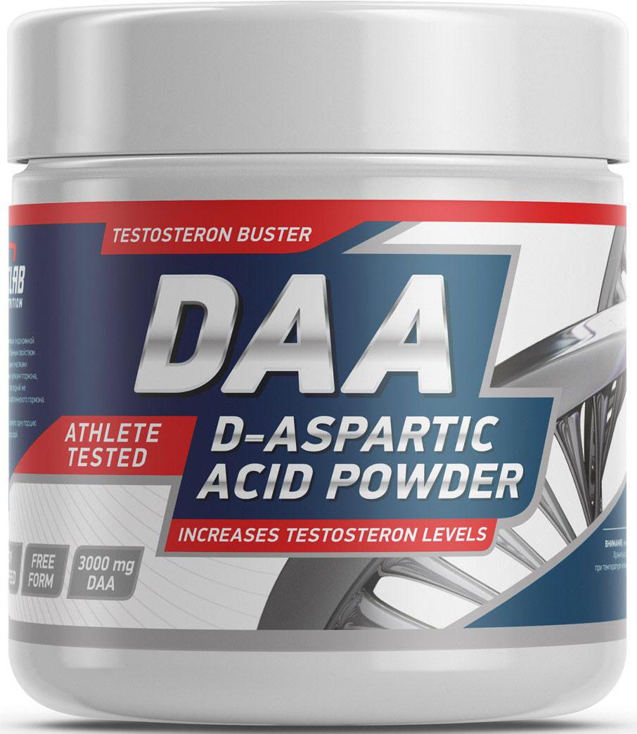 Тестостерон Geneticlab Nutrition D-Aspartic Acid, без вкуса, 100 г аминокислоты geneticlab nutrition glutamine powder без вкуса 500 г