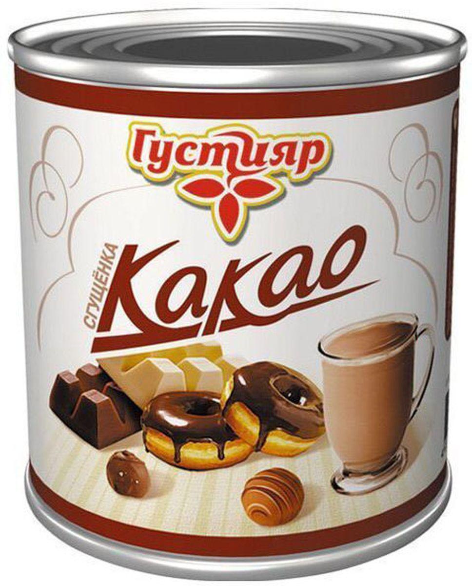 Союзконсервмолоко Густияр молоко сгущенное с какао, 380 г все цены