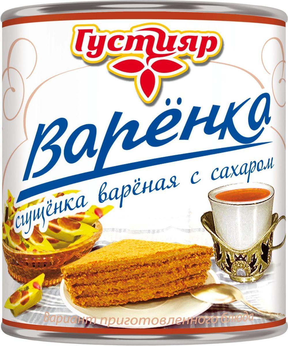 Союзконсервмолоко Густияр молоко сгущенное вареное, 370 г все цены