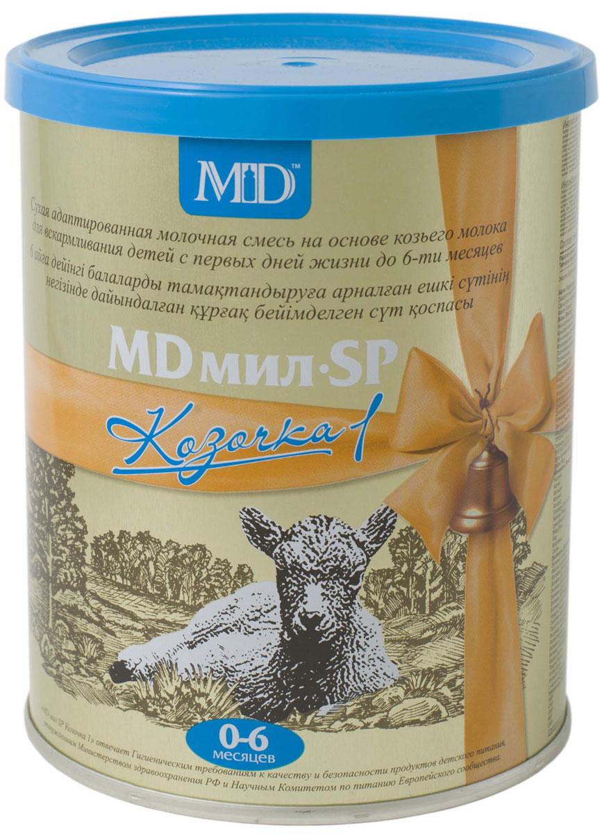 MD Мил SP Козочка 1 молочная смесь с 0 до 6 месяцев, 400 г md мил sp козочка 2 молочная смесь с 6 до 12 месяцев 400 г
