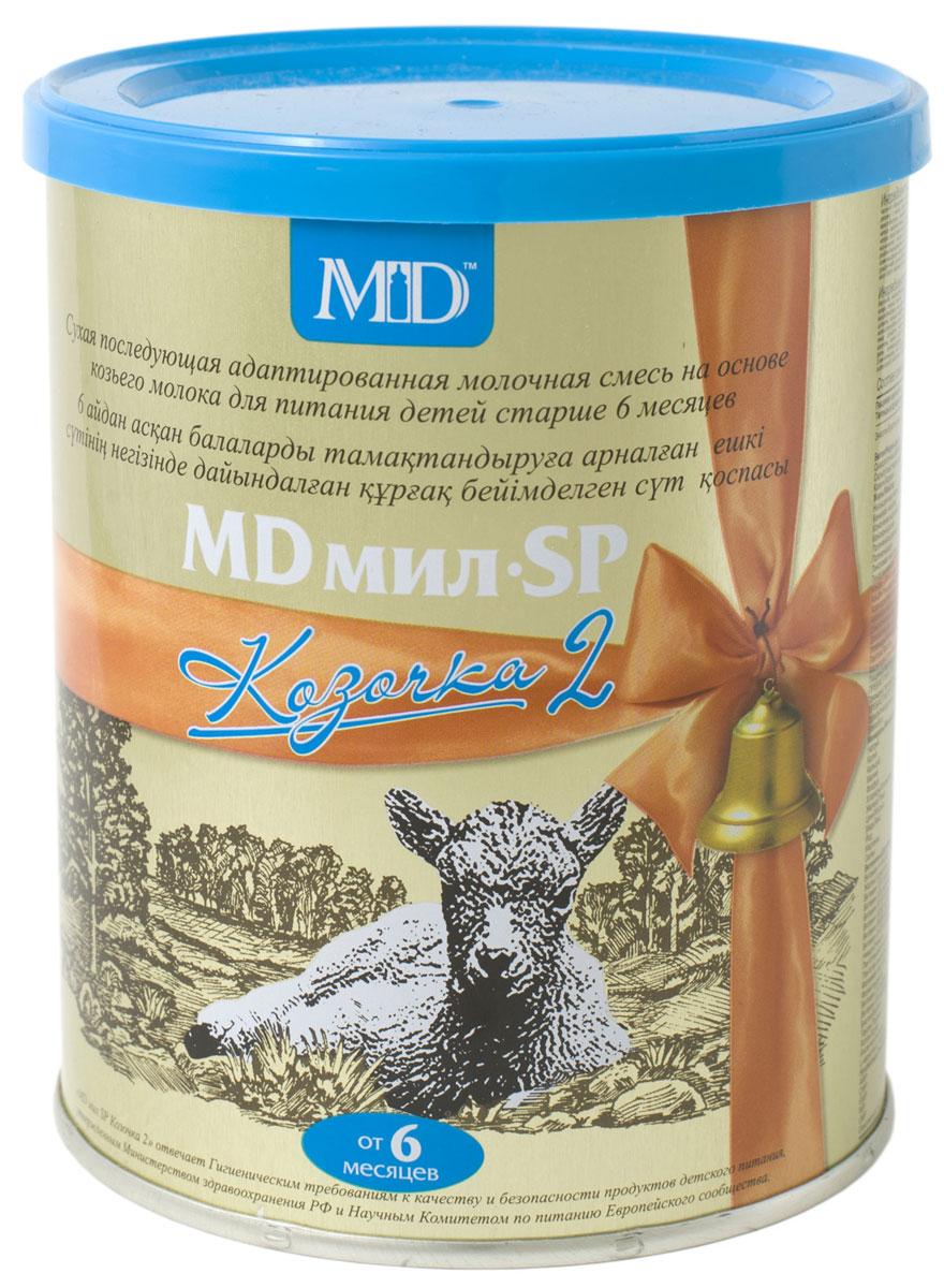 MD Мил SP Козочка 2 молочная смесь, с 6 до 12 месяцев, 400 г