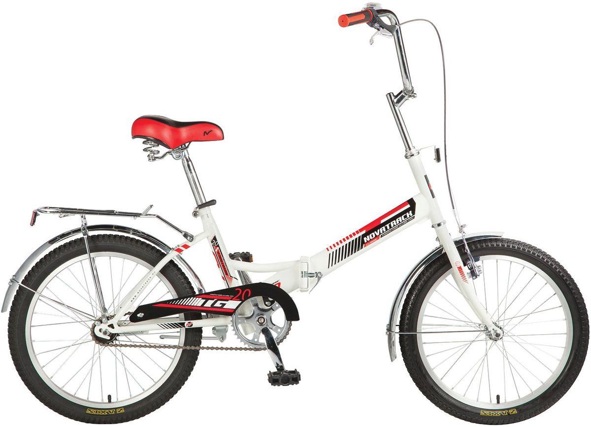 Велосипед детский Novatrack TG-30 Classic, цвет: белый, красный, черный, 20