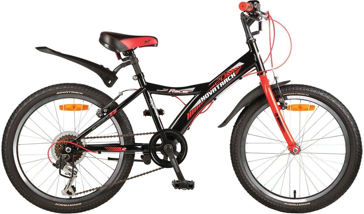 Велосипед детский Novatrack Racer, цвет: черный 20
