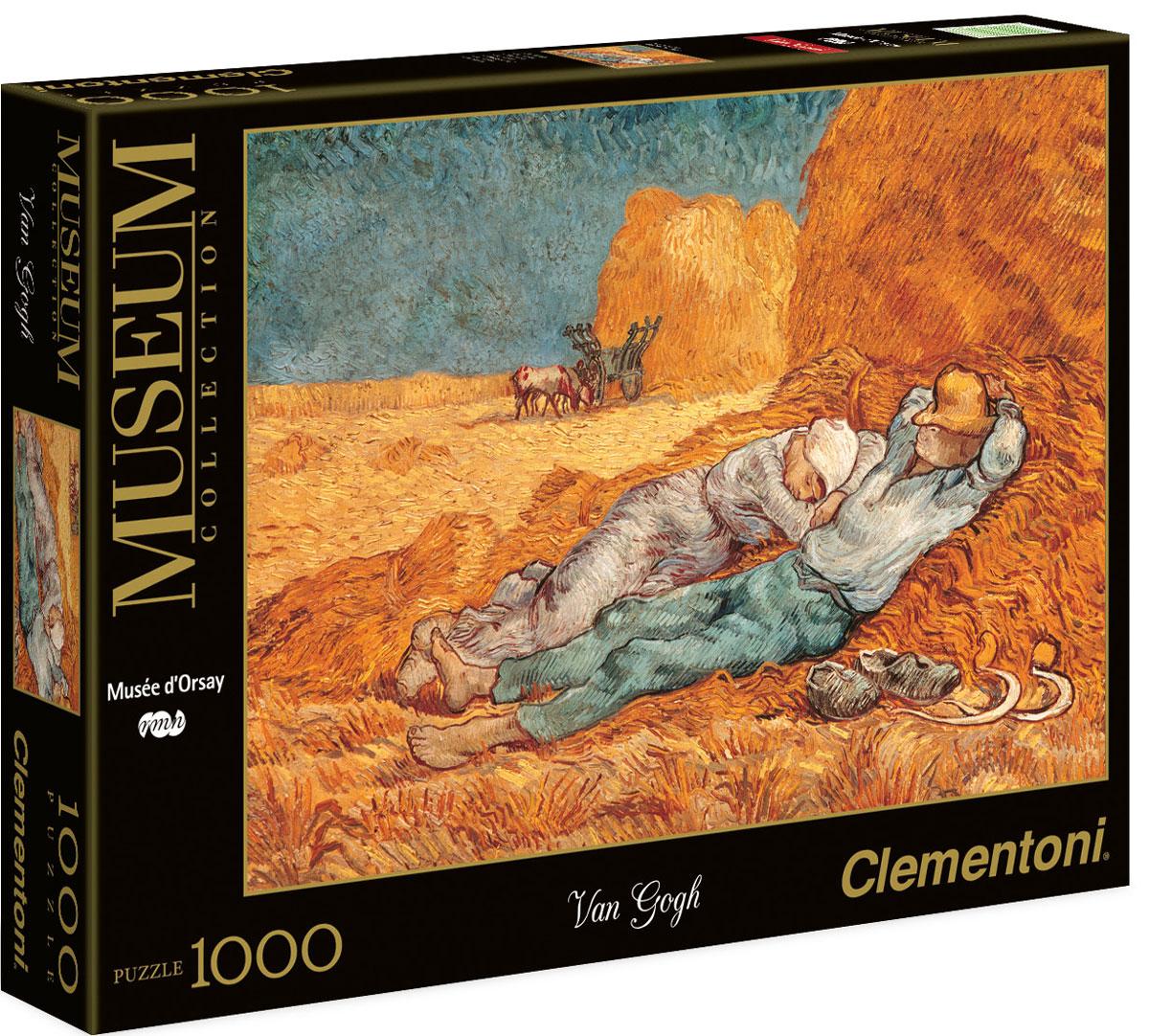 Clementoni Пазл Сиеста пазлы clementoni итальянский пазл clementoni серия музей микеланджело страшный суд