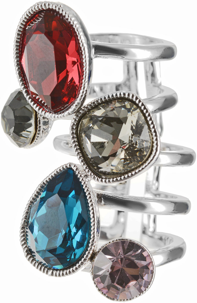 Кольцо Art-Silver, цвет: серебряный. 054912-1290. Размер 18,5 серьги art silver цвет серебряный 27958 577