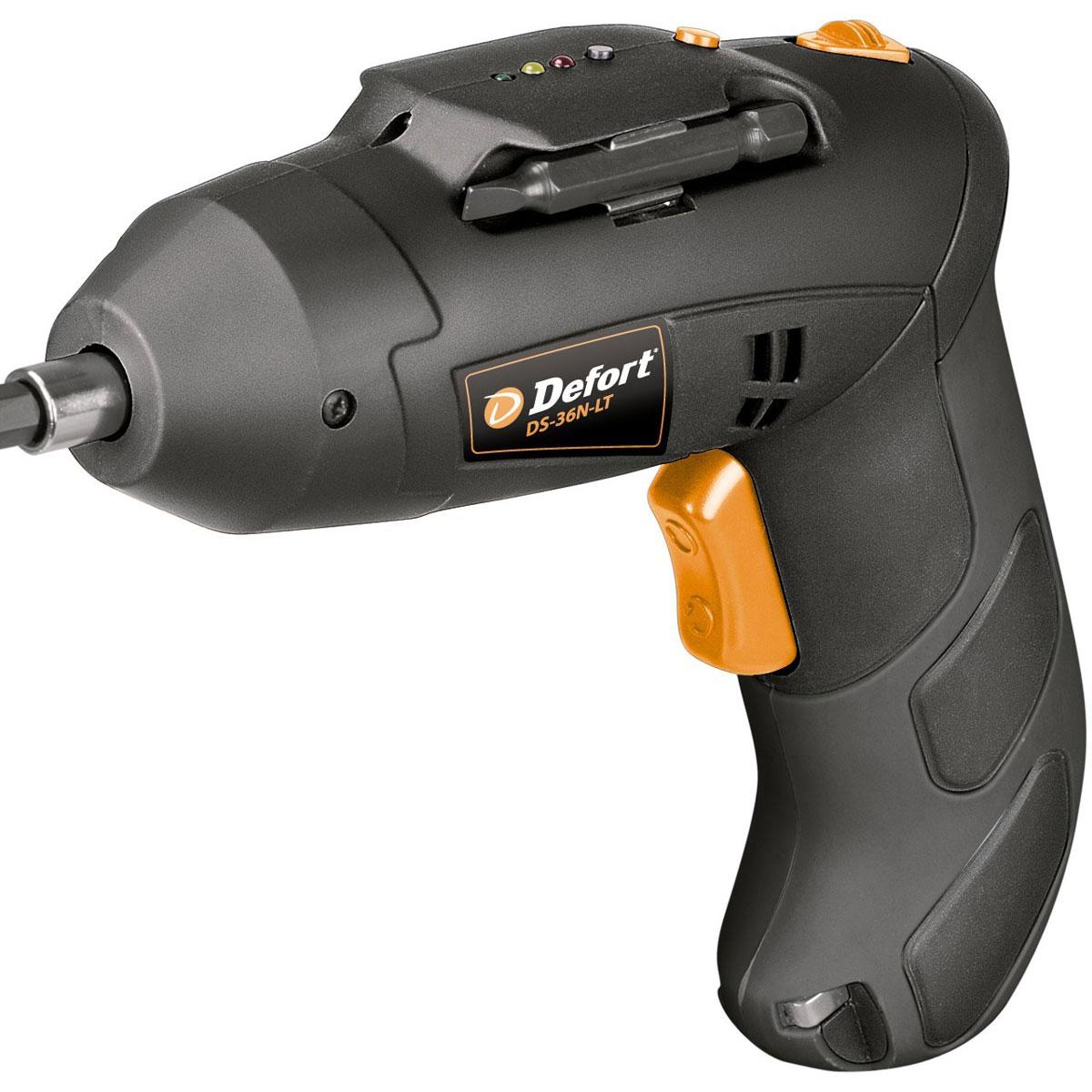 Отвертка аккумуляторная DEFORT DS-36N-Lt cordless screwdriver defort ds 48n lt