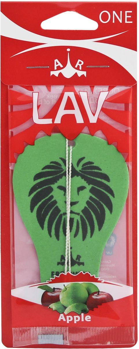 Ароматизатор автомобильный Lav One. Apple, подвеска ароматизатор 01387