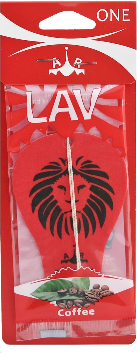 Ароматизатор автомобильный LAV One. Coffee ароматизатор автомобильный paloma happy bag lemon
