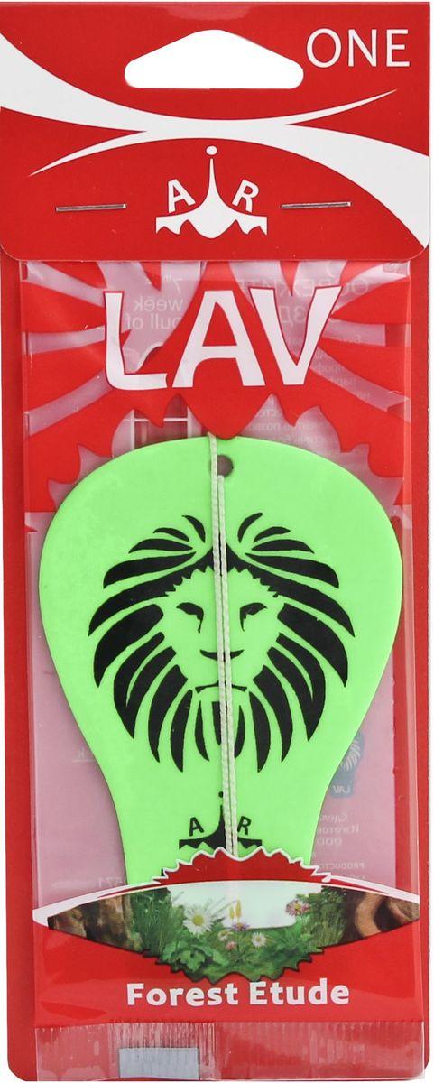 Ароматизатор автомобильный Lav One. Forest Etude, подвеска ароматизатор подвесной