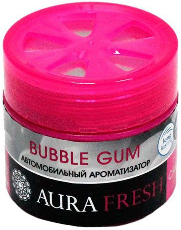 Ароматизатор автомобильный Aura Fresh Bubble Gum, на панель ароматизатор dr marcus fresh bag bubble gum