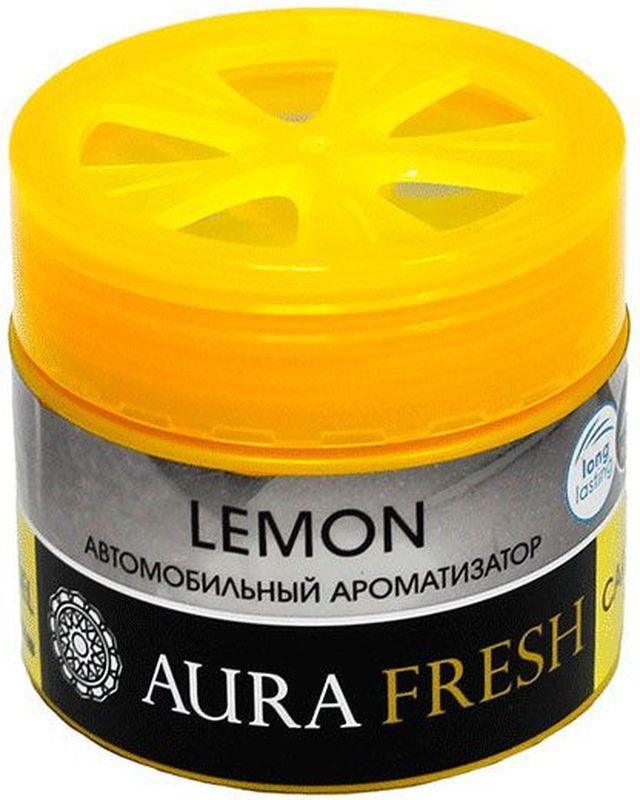 Ароматизатор автомобильный Aura Fresh Lemon, на панель ароматизатор автомобильный paloma happy bag lemon