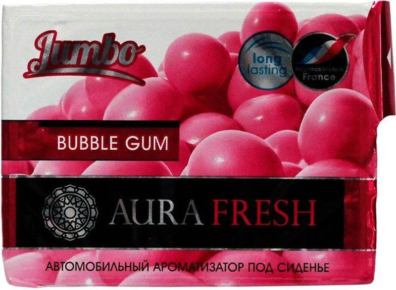 Ароматизатор автомобильный Aura Fresh Jumbo. Bubble Gum, под сиденье автомобильный ароматизатор doctor wax новая машина dw0807 под сиденье